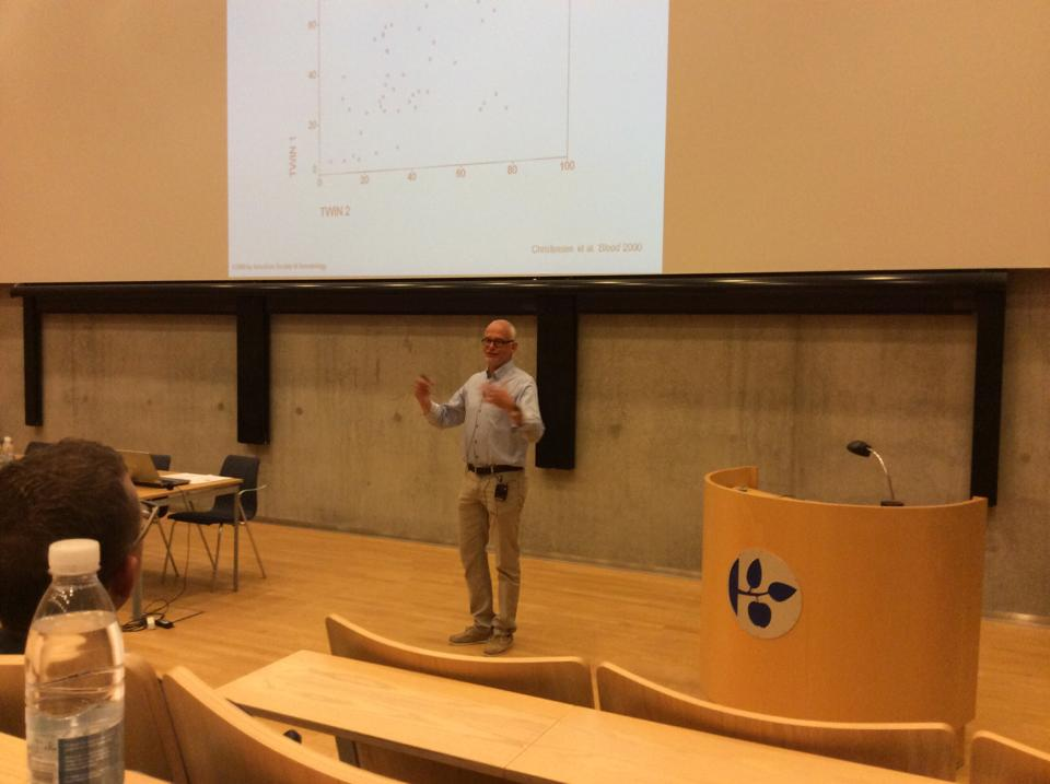 Open lecture by Kaare Christensen