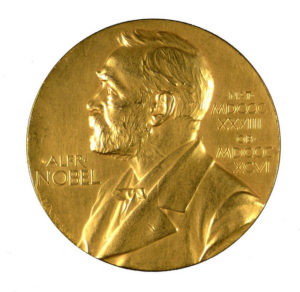Nobel Prize Medal inscribed to F. G. Banting.