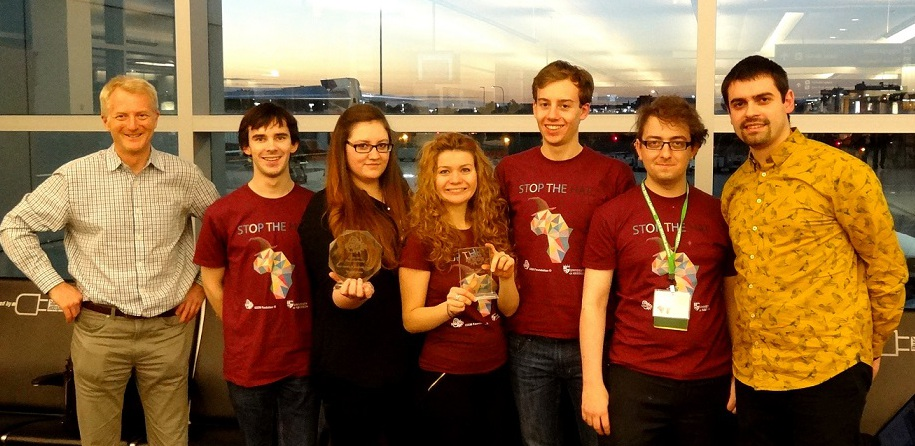 Aberdeen iGEM trophy award ceremony