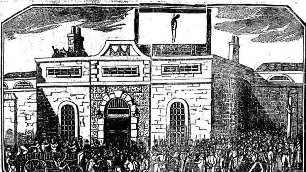 burke's execution painting
